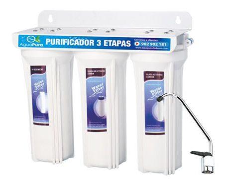 filtre aigua tres etapes